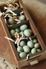 Adorable 24 Mini Speckled Eggs, Choice of 2 Colors