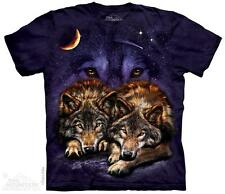 WOLF SKY ADULT T-SHIRT THE MOUNTAIN