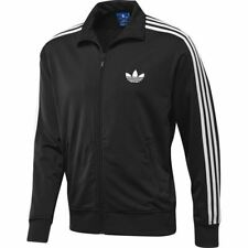 ADIDAS ORIGINALS MEN'S FIREBIRD TRACK TOP FLEECE TRACKSUIT TOP BLACK SIZES S-XL