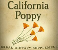 CALIFORNIA POPPY Single Herb Liquid Extract Tincture Made in USA