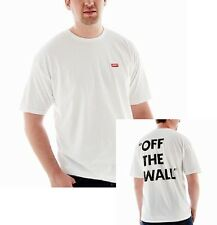 VANS Mens Off The Wall Original Logo T-shirt White Short Sleeve Tee Shirt New