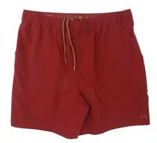 Under Armour Hydro Armour Burgundy Quick Dry Trainng Shorts Mens NWT