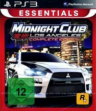Midnight Club 4 - Los Angeles Complete (Essentials) PS3 Playstation 3 NIP