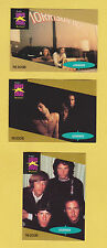 Lot of 3 The Doors rock band trading cards published early 1990's