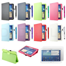 Folio PU Leather Case Cover for Samsung Galaxy Tab 3 10.1 10 inch P5200 P5210