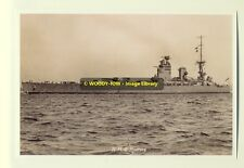 rp7908 - Royal Navy Warship - HMS Rodney - photo 6x4