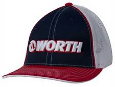 Worth 3D Embroidered Adult Mesh Baseball/Softball Trucker Hat. WTRUCK