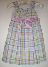 New Bonnie Jean Spring Summer Easter Dress Girls Size 4  5 Dresses Clothing