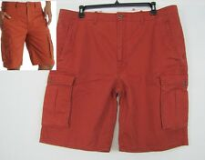 Levis mens shorts Ace Burnt Henna twill cargo cotton size 40 NEW