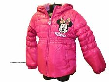 Ex-Disney Lovely Girls MINNIE MOUSE Pink Padded Jacket/Coat  Ages  2 4 6 8  yrs