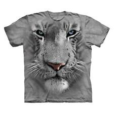 WHITE TIGER FACE CHILD T-SHIRT THE MOUNTAIN