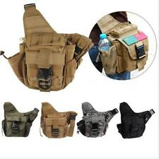 Molle Military Tactical Shoulder Strap Bag Pouch Travel Backpack Camera NEW C4L4