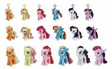"""Ty My Little Pony 7"""" 12""""& Key Clip Plush Soft Toys Choose from a large selection"""