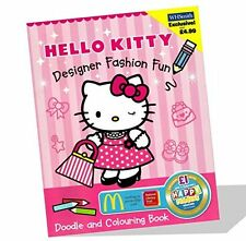 Hello Kitty Designer Doodle Book and Colouring Book (Hello Kitty), ,