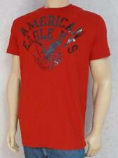 American Eagle Outfitters AEO Gloss Logo NYS Mens Red T-Shirt New NWT