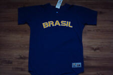 BRAZIL NEW WORLD BASEBALL CLASSIC AUTHENTIC MAJESTIC COOL BASE JERSEY