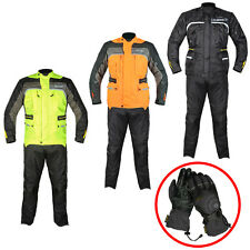 GMAC PILOT CE ARMOUR MOTORBIKE MOTORCYCLE TEXTILE JACKET TROUSER GLOVES SUIT