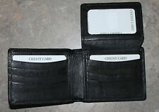 New Genuine Leather Wallet COLORADO ROCKIES Pewter Emblem Bi-fold or Tri-Fold