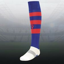 MACRON HOOP SOCKS - NAVY/RED - VARIOUS SIZES