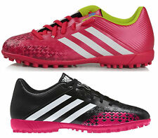 Adidas Predito LZ TRX Black Pink Mens Performance Astro Football Soccer Trainers
