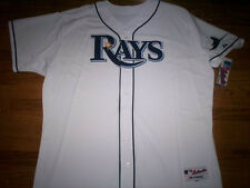 TAMPA BAY RAYS NEW MLB MAJESTIC AUTHENTIC GAME JERSEY