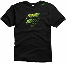 SHIFT RACING MENS FILL TEE T-SHIRT motocross freestyle mx bmx new BLACK GREEN