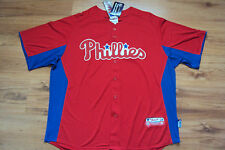 PHILADELPHIA PHILLIES NEW MLB AUTHENTIC MAJESTIC COOL BASE JERSEY