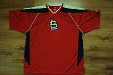ST. LOUIS CARDINALS NEW MLB MAJESTIC IMPACT 2 JERSEY