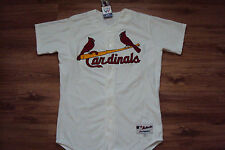 ST. LOUIS CARDINALS NEW MLB MAJESTIC AUTHENTIC GAME JERSEY