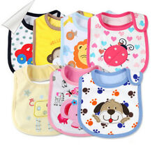 Baby Boy Girl Newborn Bibs Waterproof Saliva Towel Burp Cloth Feeding Babadores