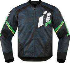 Icon Overlord Primary Textile Jacket Green