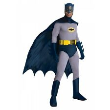 Batman Costume Adult Classic Superhero 1966 Adam West Halloween Fancy Dress
