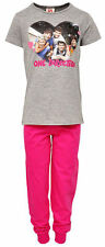 Girls/Teenager Soft Touch ONE DIRECTION 1D Grey & Pink  P.J.s   Ages 7 to 14 yrs