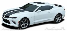 2016-2017 Camaro SS RS Rally Vinyl Graphic Hood Decal 3M Factory Racing Stripes