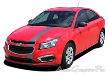 E-RALLY : Euro Racing Stripes Vinyl Graphics Decals 3M for 2015-2016 Chevy Cruze