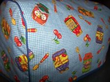 Pantry Canning Jars Quilted Fabric 2-Slice or 4-Slice Toaster Cover NEW