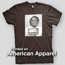 JAMES BROWN MUGSHOT Godfather Soul Motown Detroit Blues AMERICAN APPAREL T-Shirt
