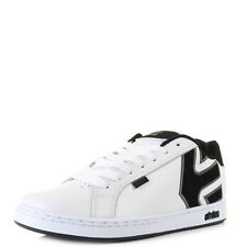 Mens Etnies Fader White Dark Grey Casual Fashion Skate Trainers Shoes UK Size