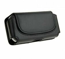 Black Belt Leather Skin Pouch Case Cover for Samsung Galaxy cell Phones 2016
