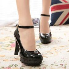 Fashion Sexy Women Pumps Platform Strappy Stiletto High Heels Party Shoes