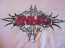 NWT Harley Davidson Youth T Shirt Pink Tribal or Yellow Rainbow Motorcycle S XL