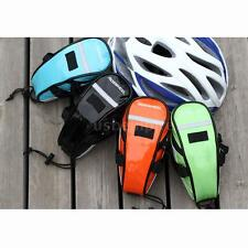 ROSWHEEL Cycling Bike Bicycle Tail Rear Storage Saddle Bag Pouch Seat HOT Y9B3