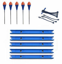 5 x Classic dibber margin pole floats with winders Available in various sizes