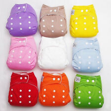 Diapers & Inserts Adjustable Reusable Lot Baby Washable Cloth Diaper Nappies
