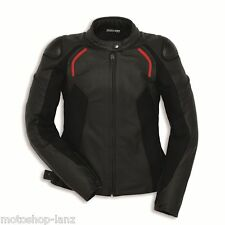 Ducati 9810320 Ladies Leather jacket Motorcycle Racing Suit STEALTH C2 black-red