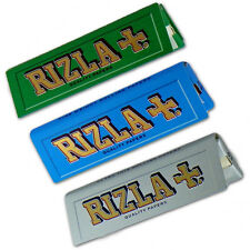 Rizla Regular Standard Smoking Papers Rolling Paper Booklets Blue Green Silver