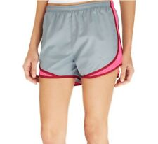 NWT Womens Nike Tempo Running Shorts Dri-Fit 624278 Gray Pink Athletic Size XS S
