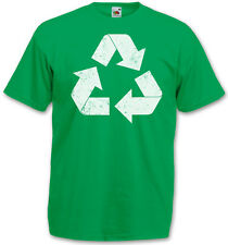 THE BIG GREEN VINTAGE RECYCLE LOGO BANG THEORY T-SHIRT - Sheldon Nerd Cooper TV