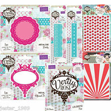 Crafters Companion Verity Rose - Embossing Folders, Cutting Dies & Colouring Pad