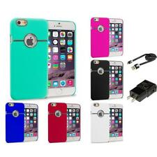 For Apple iPhone 6 (4.7) Hard Deluxe Chrome Rear Slim Case Cover Accessories